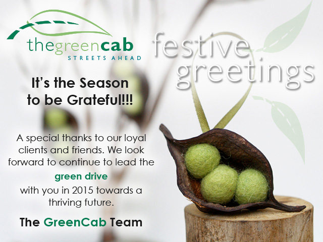 GREENCAB Seasons Greetings 2014